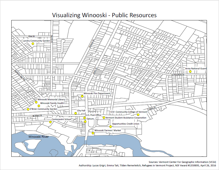 Winooski Public Resources