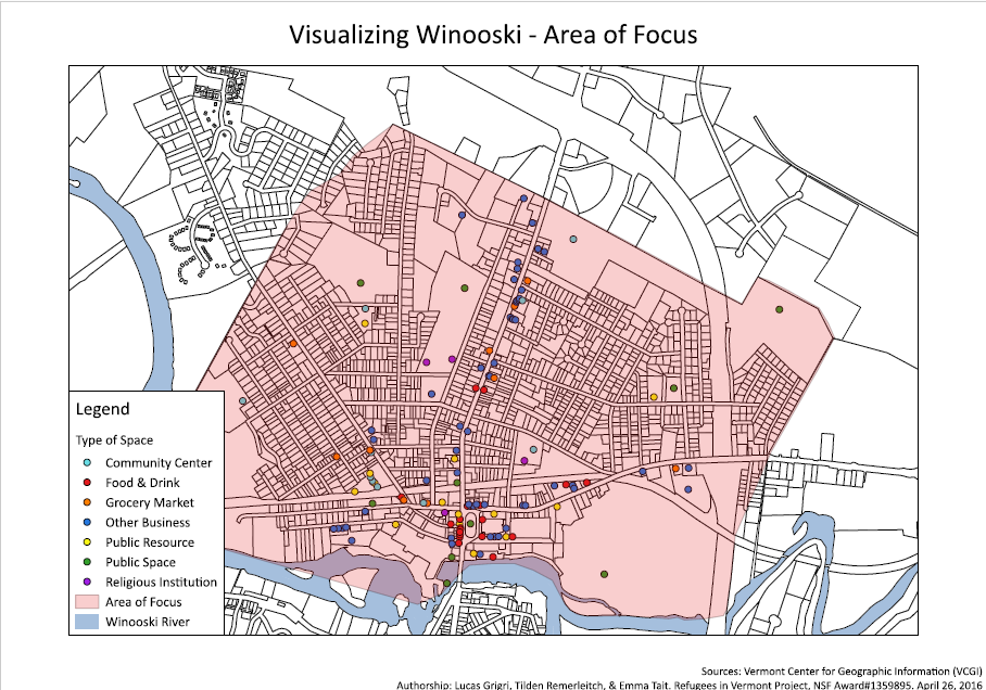 Winooski Area of Focus