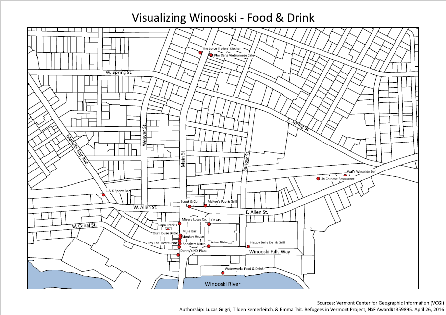 Winooski Food Drink