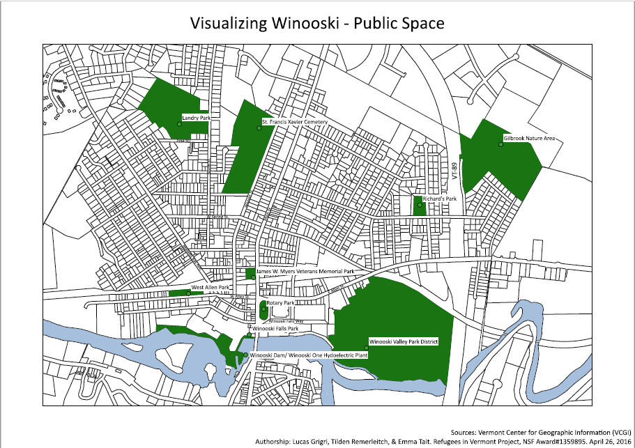 Winooski Public Spaces