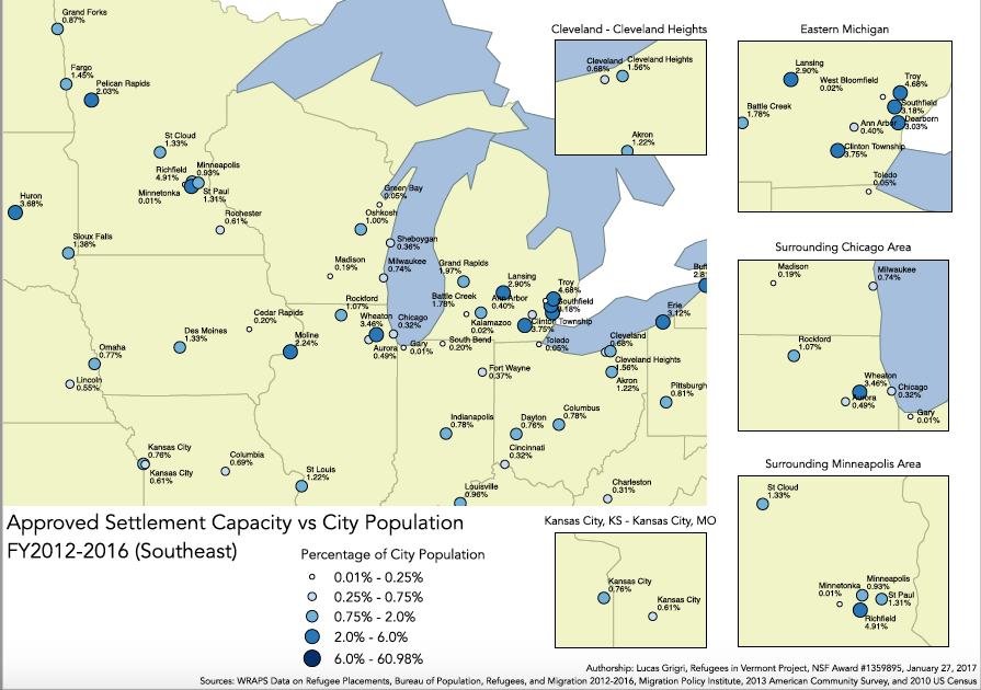 City Population (Midwest)